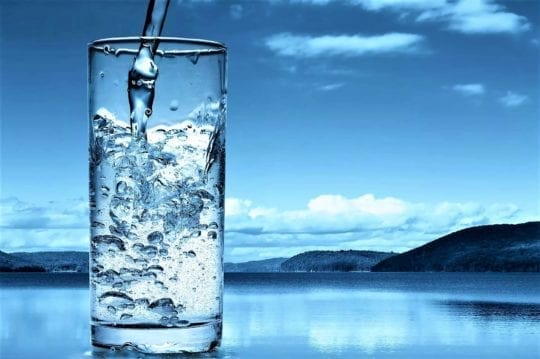 pure water