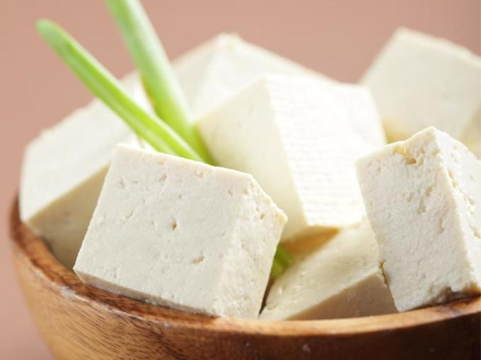 Dish with tofu