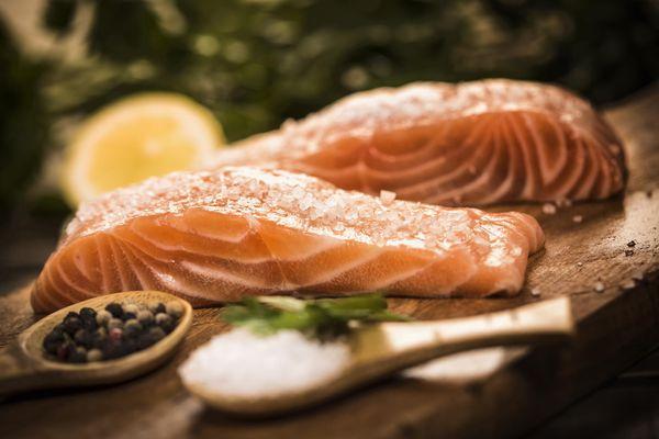 sockeye salmon in the oven