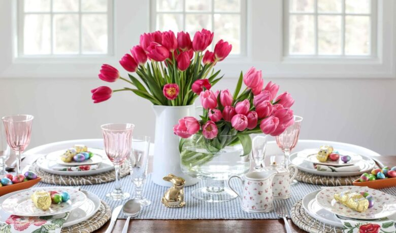 The 10 most beautiful ideas for setting up the Easter table