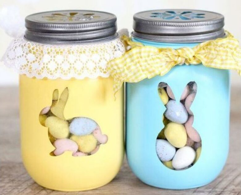 Easter decorations: here's how to make them with recycled objects